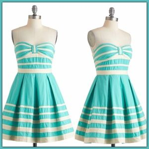 ModCloth Along These Shorelines Dress